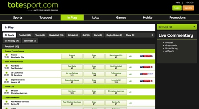 Totesport Screenshot
